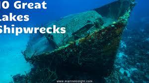 10 Great Lakes Shipwrecks