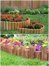 creative garden bed edging ideas