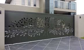 Residential Metal Fence Panels
