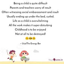 being a child is quite di quotes writings by jahnavi dhir