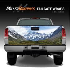 Mountain Scene 3 Landscape Truck Tailgate Vinyl Graphic Decal Wrap Ebay