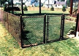 Coed Chin Vinyl Coated Chain Link Fence Gate Syzzle Me