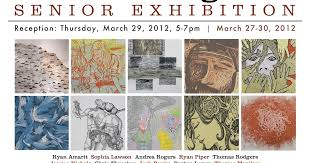 UNT Printmaking Blog: BFA Senior Exhibition