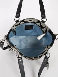 black leather coach purse strap the