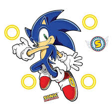 Sonic The Hedgehog Giant Wall Decals Sega Shop