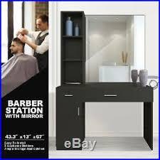 wall mount barber salon station makeup