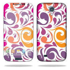 Mightyskins Protective Vinyl Skin Decal Cover For Samsung Galaxy S4 Cell Phone Wrap Sticker Skins Swirly Girly Walmart Com Walmart Com