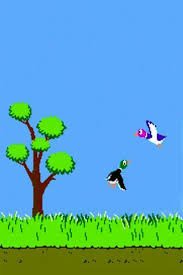 duck hunt iphone 4 wallpaper and iphone