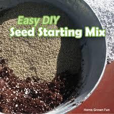 mix and simple diy potting soil recipe