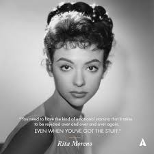 Rita Moreno (@TheRitaMoreno) | Rita moreno, Rita, Old hollywood stars