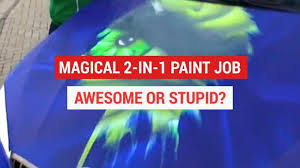 thermochromic paint jobs