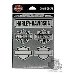 Dc131006 Harley Davidson Bar Shields 5 Piece Dome Decal Sheet Barnett Harley Davidson