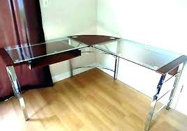 all glass desk rosettawamsley co