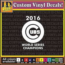 Chicago Cubs Mlb Decal Sticker Car Truck Window Bumper Laptop Wall