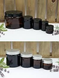 amber glass jars airtight lid 15ml