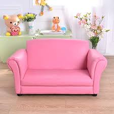 Amazon Com Kids Sofas Baby S Upholstered Couch Kids Sofa Children S Sofa Cute Pink Loveseat Sofa Baby Children S Room Sofa Mini Kindergarten Sofa Couch Pink Furniture Decor