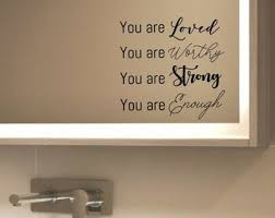 You Are Loved Decal Etsy