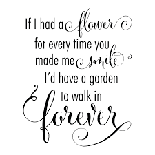 garden to walk in forever wall quotes decal com