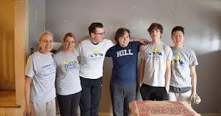 Digital Notebook: Hill Students Lend Hand in Hobart's Run Rehab