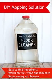 diy mopping solution works great for