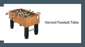 harvard foosball table review