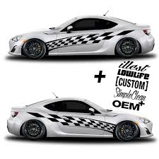 Car Graphic 201 Racing Flag Free Decals Shinegraffix Com