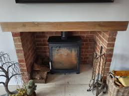 can you install a wood burning stove in