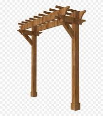 Pergola Fence Deck Garden Buildings Backyard 2 Post Bar Pergola Ideas Free Transparent Png Clipart Images Download