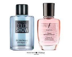 best acetone free nail polish removers