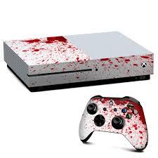 Amazon Com It S A Skin Xbox One S Console Controller Decal Vinyl Wrap Blood Splatter Dexter Video Games