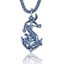 fish necklace sterling silver pendant