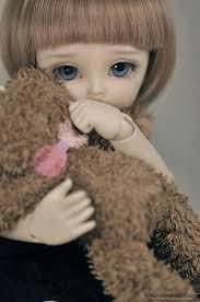 cute sad doll picture we need fun