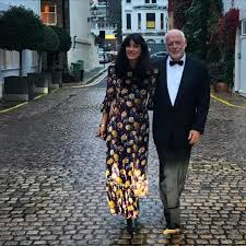 """David Gilmour (Fan) on Twitter: """"Polly Samson and David Gilmour, on their  way to the Booker Prize… """""""
