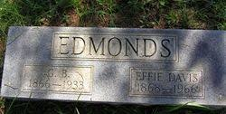 Effie Davis Edmonds (1868-1966) - Find A Grave Memorial