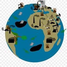 earth water pollution cartoon clip art