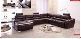 cow genuine real leather sofa set
