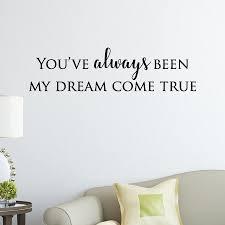 Dream Come True Wall Quotes Decal Wallquotes Com