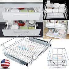 expandable sliding cabinet drawer