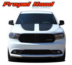 Propel Hood Dodge Durango Stripes Durango Decals Durango Vinyl Graphics