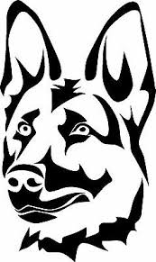 German Shepherd Dog K9 Vinyl Decal Sticker Ebay