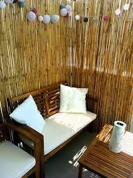 Bamboo Fence Ideas For Outdoor Privacy Unique Balcony Garden Decoration And Easy Diy Ideas