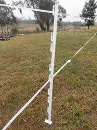 China Portable Insulated Multi Wire Electric Fence Post For Cattle Protection China Electric Post Portable Post