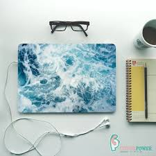Ocean Laptop Skin Decal Cover Sea Wave Notebook Vinyl Decal Etsy