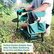 heavy duty garden kneeler bench for