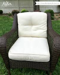 remove mildew stains from outdoor cushions