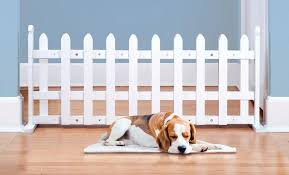 Pet Store White Picket Expanding Or 3 Section Folding Pet Gates Pet Gate White Picket Fence Dog Gate