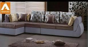 modern look designer l shape sofa for
