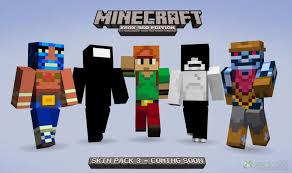 MineCraft Xbox 360 Skin Pack 3 Adds ...
