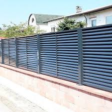 Garden Fence Lamellar Ograje Kocevar Panel Galvanized Steel Security
