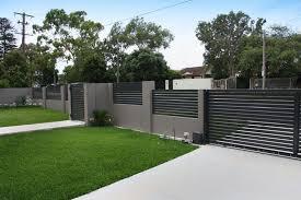 commercial walls fencing